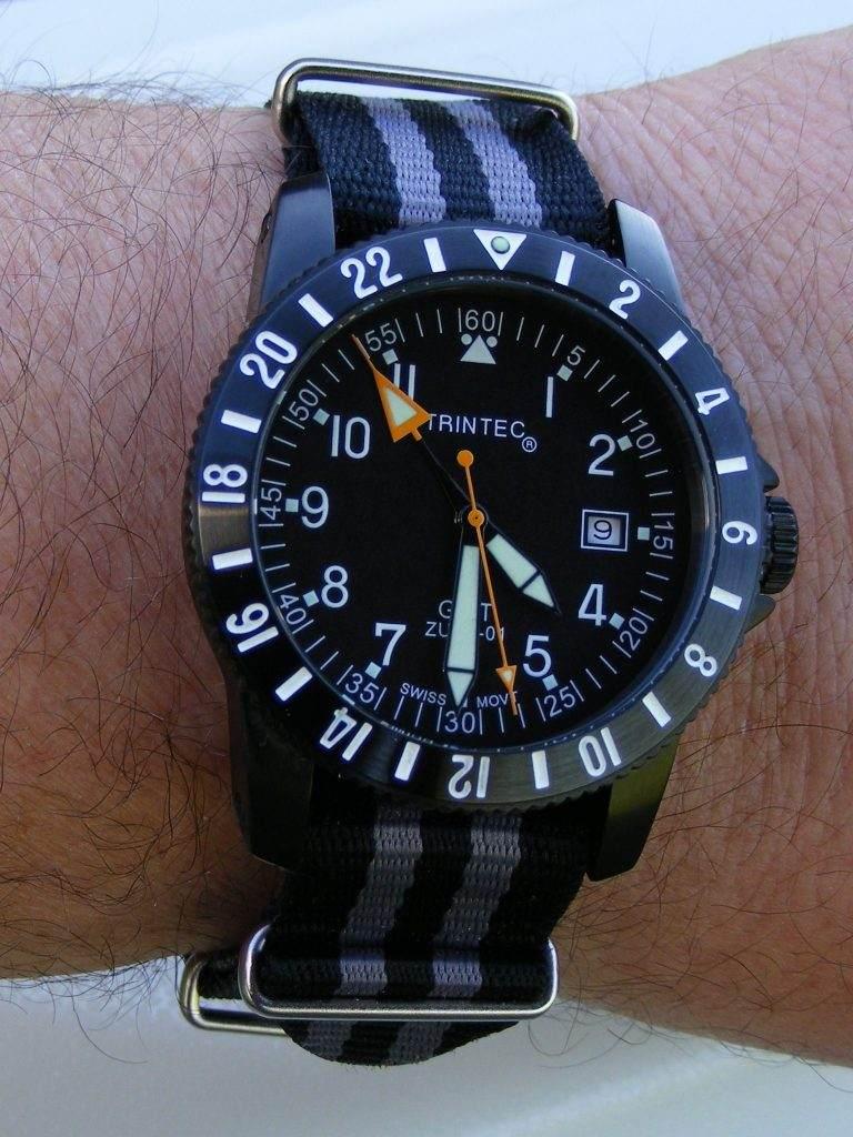 Original Trintec Instrument Watches Trintec-Zulu01-GMT-19L