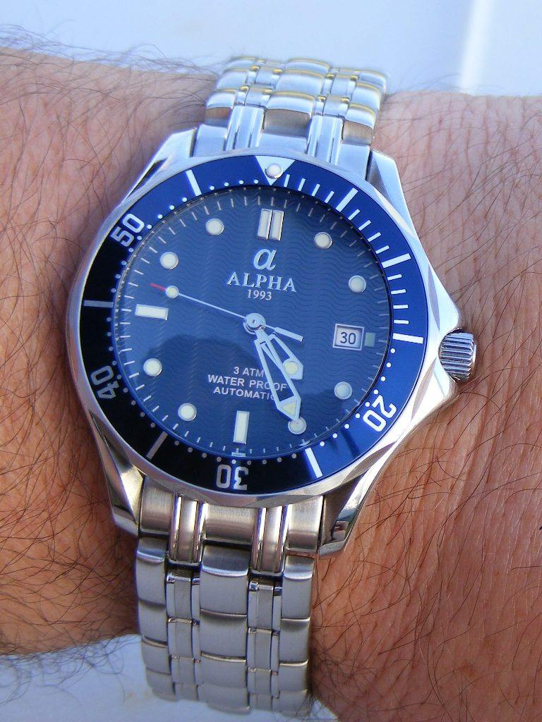 Cost Less Auto >> Alpha SeaMaster James Bond homage