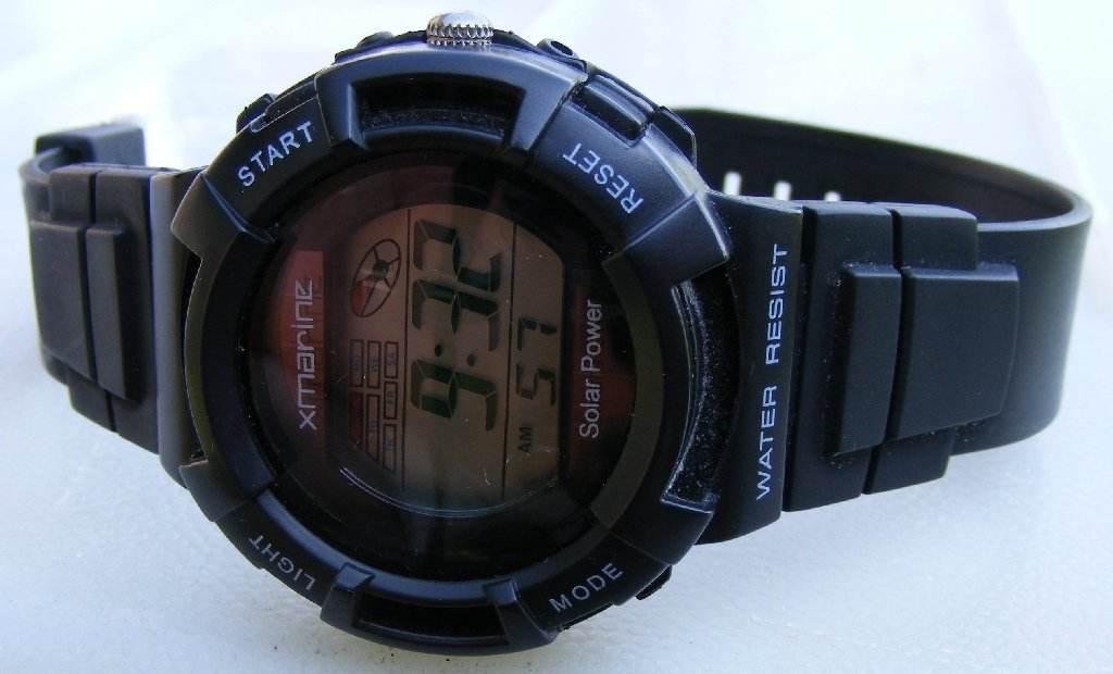 X-Marine Solar Power Xmarine Watch