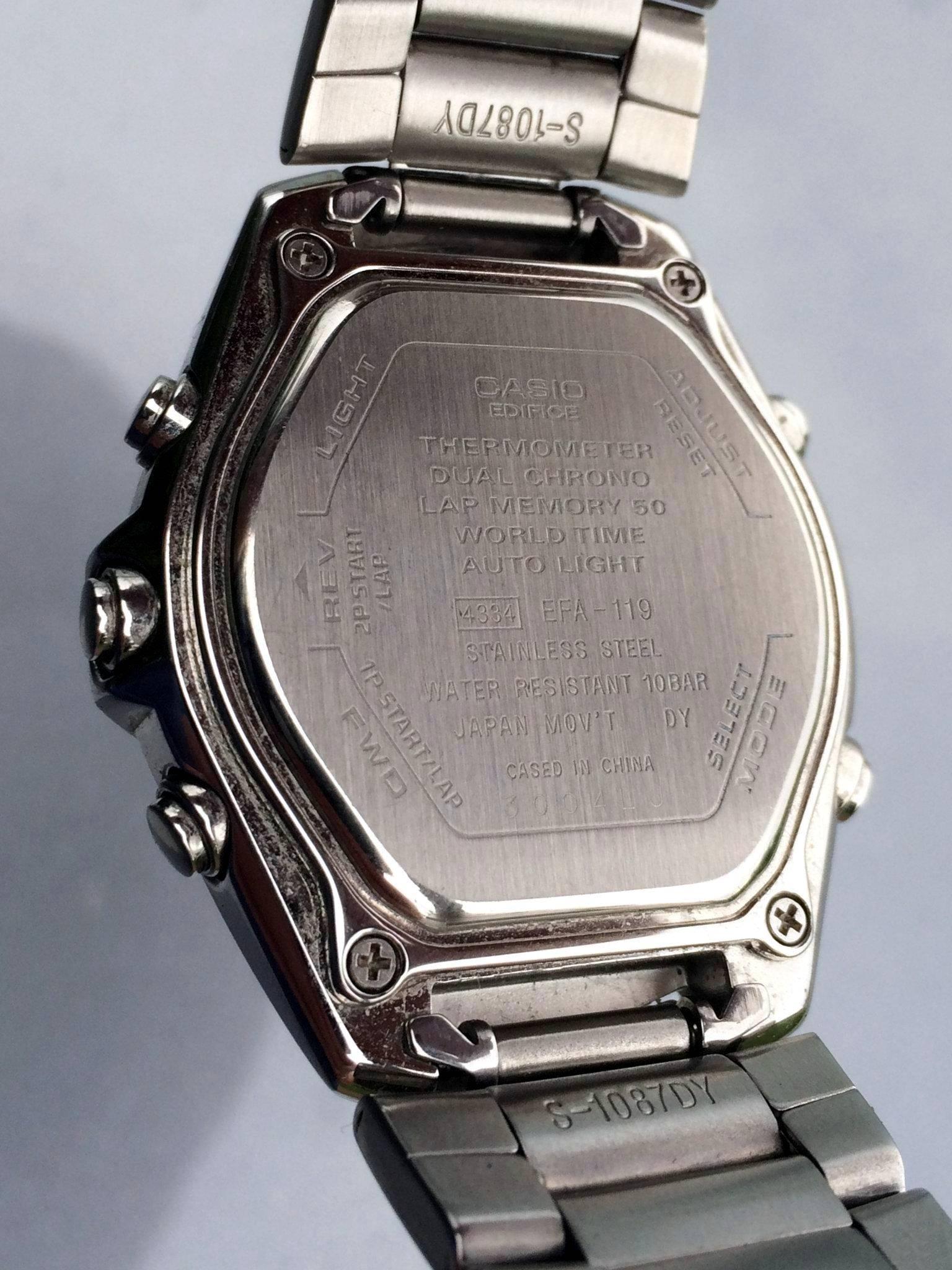 8b5e32f986c5 Cavalcade of Chronographs Day 55  Casio Edifice Ana-Digi Alarm GMT ...