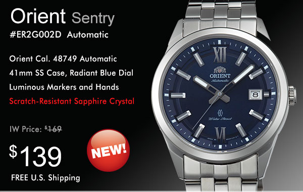 Psa new orient models on sale island watch for Orient mobel